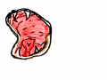 입 : 입 스케치판 ,sketchpan