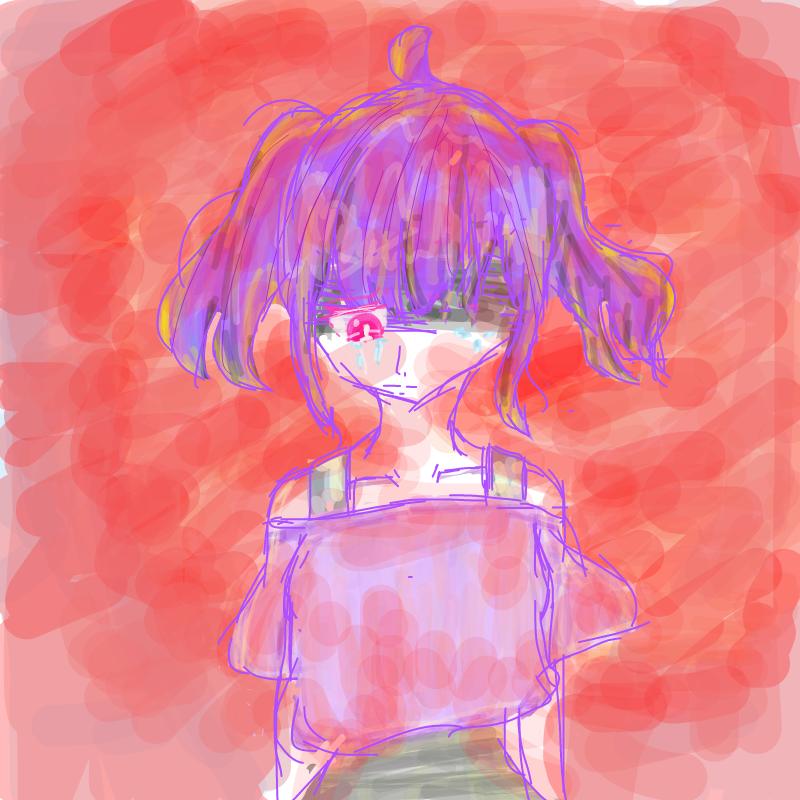 붉은 노을 : 붉은 노을 스케치판 ,sketchpan