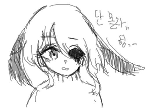 낙서 .. 으아악.. : ㅇㅅㅇㅅ 스케치판 ,sketchpan