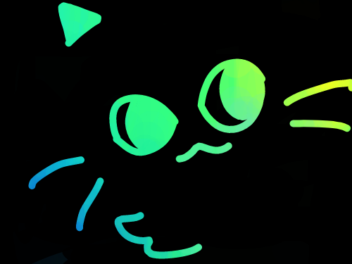 고양이 : 고양이 스케치판 ,sketchpan