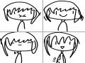 우무우물 : 우무우물 스케치판 ,sketchpan