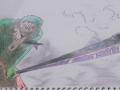 어이구..손.. : 어이구..손그림으로 조로를 그렸는데..짤렸네요..ㅎ오랬만입니당 여려분들~ 스케치판 ,sketchpan