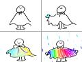 우울할땐 무지개보기 : 우울할땐 무지개보기 스케치판 ,sketchpan