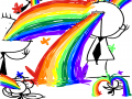 무지개 토.. : 무지개 토! 스케치판,sketchpan