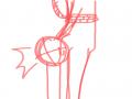 그냥 줄에 .. : 그냥 줄에 메달린 트레예요 해보실분~? 스케치판 ,sketchpan
