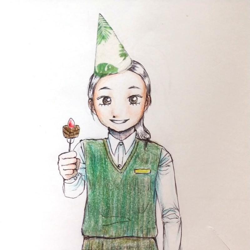 내일이 친.. : 내일이 친구 생일이라 친구 그려줌.. 스케치판 ,sketchpan