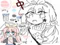 中 : 中 스케치판 ,sketchpan