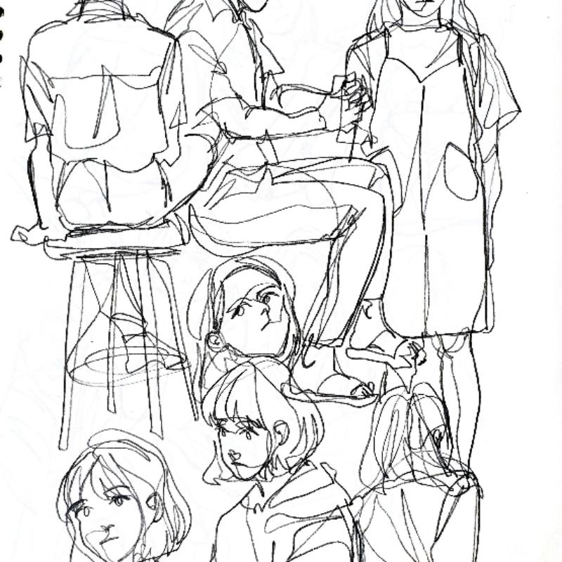며칠전 낙.. : 며칠전 낙서 스케치판 ,sketchpan