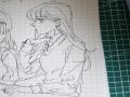 새 메모패.. : 새 메모패드 테스트 필기용으로 산거지만~ 스케치판,sketchpan