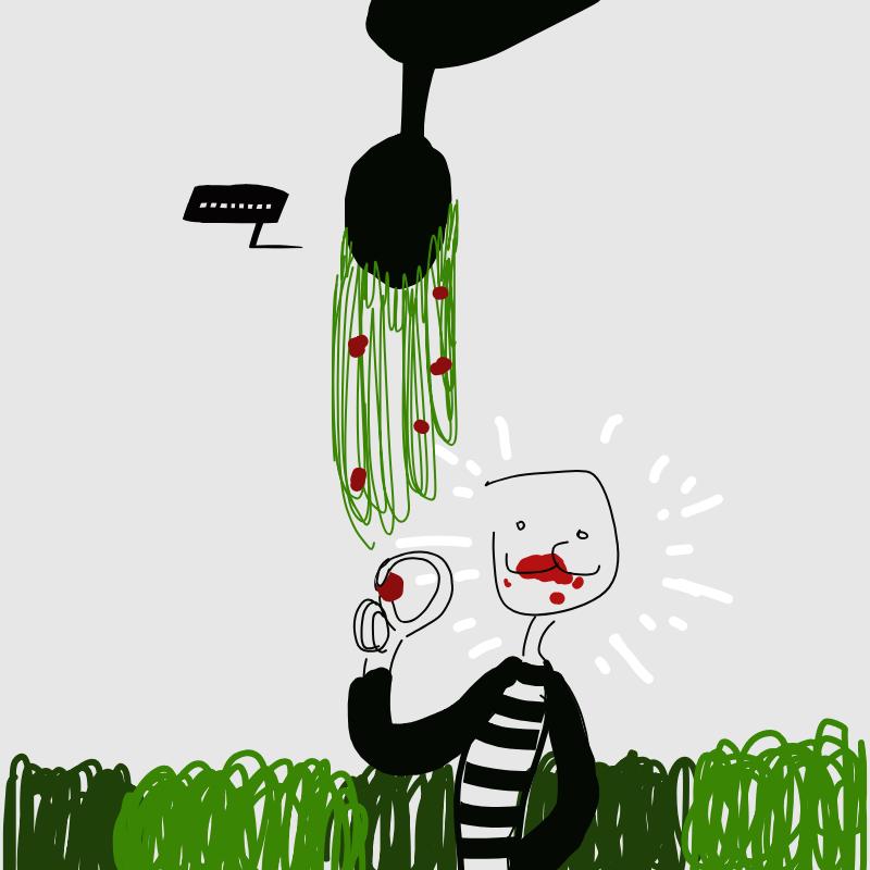 이거 모냐 .. : 이거 모냐 맛있네~ 스케치판 ,sketchpan