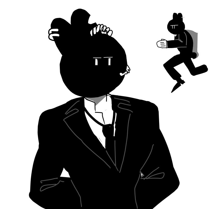 자다 일어.. : 자다 일어낫믄ㅇ 데 갑자기 떠오른 토끼 한마리 스케치판 ,sketchpan