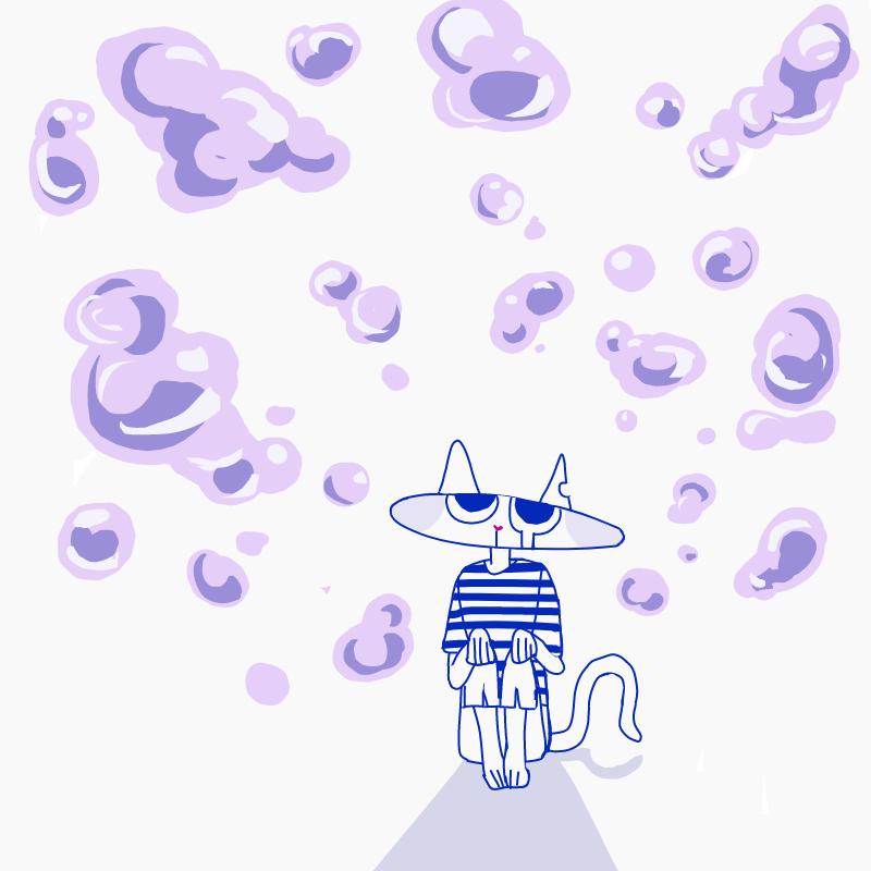 몽글몽글한.. : 몽글몽글한거 그리고 싶었는데 어렵네 스케치판 ,sketchpan