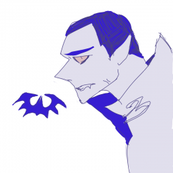 드라큘라 .. : 드라큘라 백작은 옆모습이 더 섹쉬 , 스케치판,sketchpan,뿌.뿌