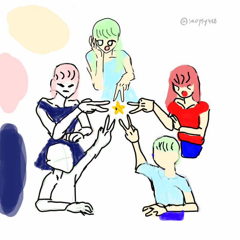 미완성   .. : 미완성   자두:빨강색    민트:연하늘색오꾸도꾸:남색 스케치판 ,sketchpan