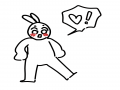 짝녀가 생.. : 짝녀가 생겼어요 스케치판 ,sketchpan