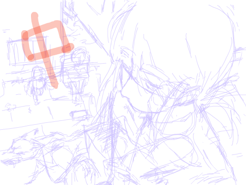 슬럼가 거리 : 슬럼가 골목을 지나며 스케치판 ,sketchpan