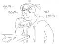 아... : 모의고사 XX끼.. 스케치판 ,sketchpan