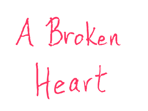 A Broken Heart : My second try at an animation.  I know it is simple but quite a bit harder than it looks.  This one took me almost 2 hours. 스케치판 ,sketchpan