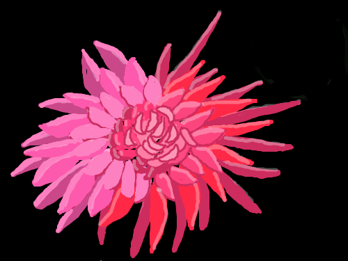 Spikey : flower 스케치판 ,sketchpan