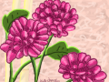 Practice flowers : I have been gone for too long and I forgot how to draw 스케치판 ,sketchpan