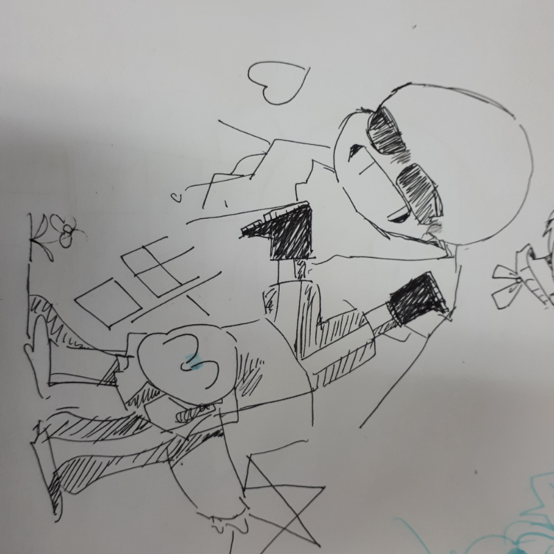 동아리 조.. : 동아리 조흐다 스케치판 ,sketchpan