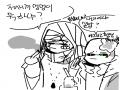내 오너와 .. : 내 오너와 부오너는 담배가 일상이여 몰랐어? 스케치판 ,sketchpan
