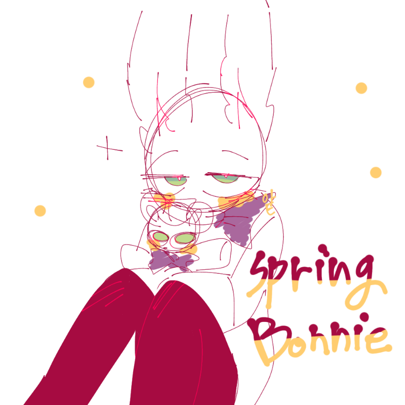 spring bon.. : spring bonnie 스케치판 ,sketchpan