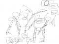 어 여기에 .. : 어 여기에 낙서안올렸구나 스케치판 ,sketchpan