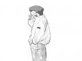 뉄 : 뉄 스케치판,sketchpan