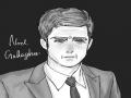 그는 내마.. : 그는 내마음을 불사지른다. 스케치판 ,sketchpan