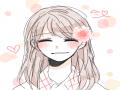 뭔가 정말 .. : 뭔가 정말 환하게 웃는얼굴을 못그립니다 뭐랄까 다 금방이라도 울수있을것 같은얼굴들이네요ㅠㅜㅠ어떻게 그리죠..????:O 스케치판,sketchpan