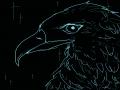 반짝반짝(?.. : 반짝반짝(?) 독수리 스케치판,sketchpan