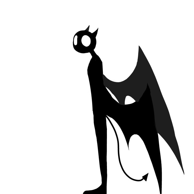 악마 : 악마 스케치판 ,sketchpan