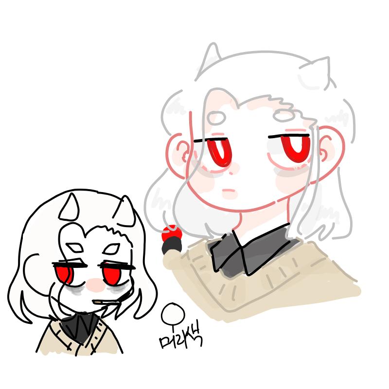 졸리다... : 졸리다... 스케치판 ,sketchpan
