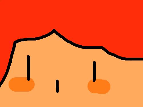 얼굴이큰사람-임수연 : 얼굴이큰사람 스케치판 ,sketchpan