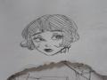 요즘 계속 .. : 요즘 계속 단발만 그리네 스케치판 ,sketchpan