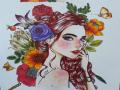 학교 색채.. : 학교 색채수업때 색칠공부쓰 엥 다시 되네 스케치판 ,sketchpan