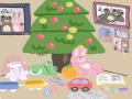 먼저 분홍.. : 먼저 분홍공 파란공 중에 하나 고른 뒤 2개 고르기 (나무는 지우는거×) 스케치판 ,sketchpan