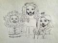 여은파 : 여은파 스케치판 ,sketchpan