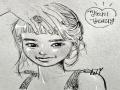 김태리님 : 김태리님 스케치판 ,sketchpan