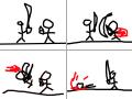 이재ㅎ2 : 큰검작은검 스케치판 ,sketchpan