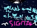 김유빈 트와이스 시그널 : 시그널 보내 스케치판 ,sketchpan