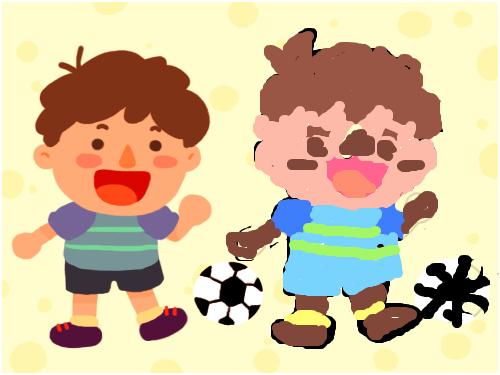 정관김덕필 : 이쁜 아이 공놀이 스케치판 ,sketchpan