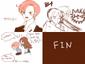 얀이의 금니 : 두번째 애니메이션^_^~~~역시 제 자캐입니다 스케치판 ,sketchpan