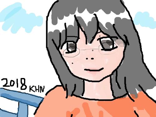 내모습 : 2018.10.11 그린그림 스케치판 ,sketchpan
