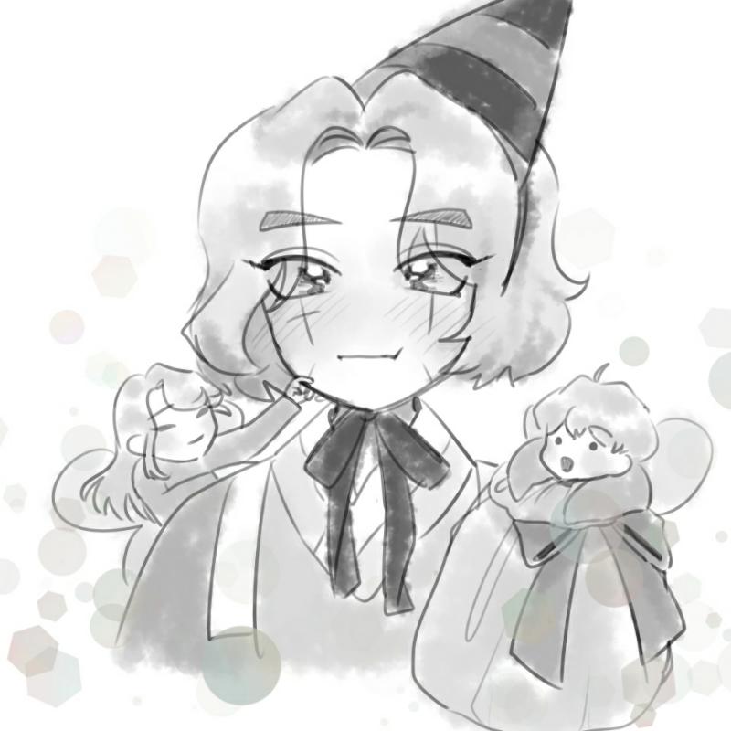 암주 생일 .. : 암주 생일 축전 스케치판 ,sketchpan