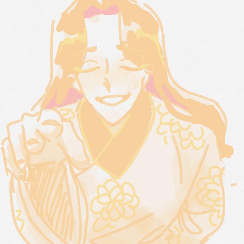 낭자 궁에.. : 낭자 궁에선 조심 어쩌고 스케치판 ,sketchpan