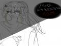 오너캐. 저.. : 오너캐. 저장 이어그리기 금지 스케치판 ,sketchpan