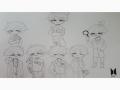 bts 올멤.. : bts 올멤버 sd 스케치판 ,sketchpan
