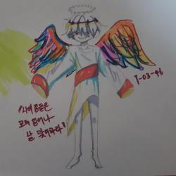 이쁜그림 .. : 이쁜그림 때려침  난 개성이 중요해 , 스케치판,sketchpan,오팡_